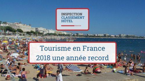 Tourisme en France 2018 année record