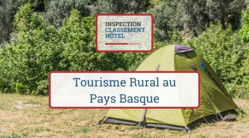Tourisme Rural au Pays Basque