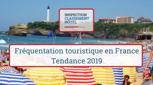 Frequentation touristique en France